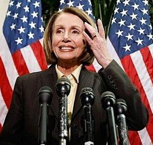 Pelosi flushed from 90% tax hike orgasm. God Bless America!